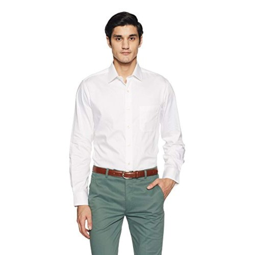 3ce38263441a1f Buy Arrow White Solid Regular Fit Formal Shirt online