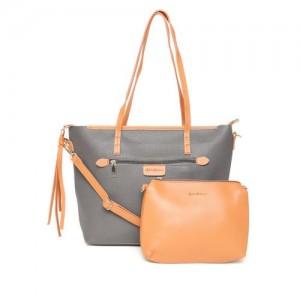 24881b9106e71d Buy Allen Solly Metallic Solid Shoulder Bag online | Looksgud.in