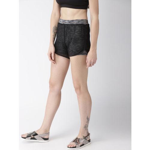 Mast & Harbour Black Regular Shorts