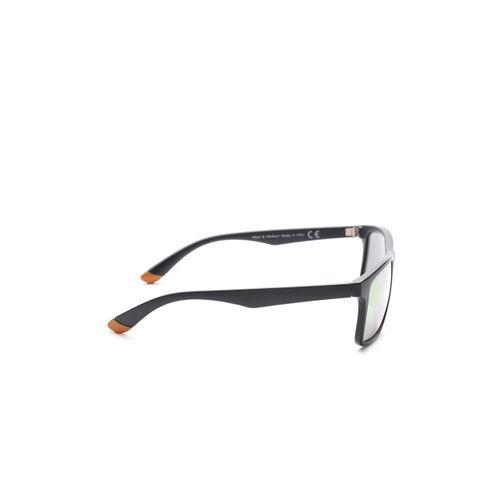 Mast & Harbour Unisex Mirrored Rectangle Sunglasses