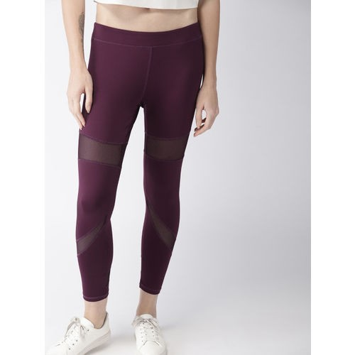 83a9f6e05 Buy Mast   Harbour Women Burgundy Solid Tights online