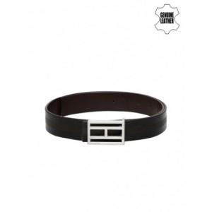 Tommy Hilfiger Black & Brown Leather Reversible Belt