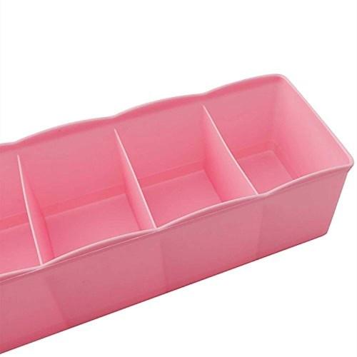 Inditradition Multicolor Plastic Closet Storage Box