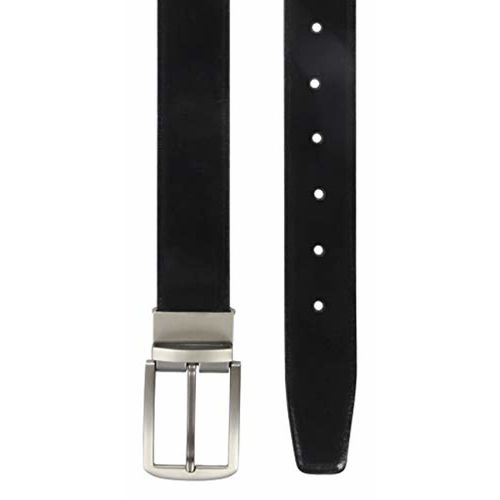 HILL OLIVER Hill Oliver Men's revesible 100% Genuine Leather Belt with heavy imported TURNING buckle from TAIWAN.