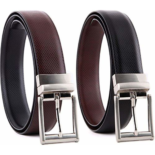 Saugat Traders Reversible black-brown mens belt (ST0001206)