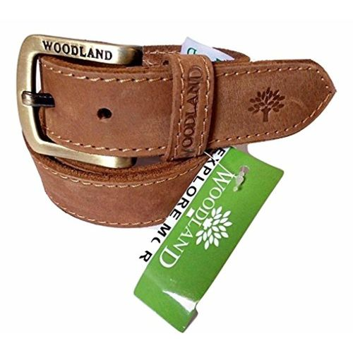 woodland Men's Belt(Brown_38)