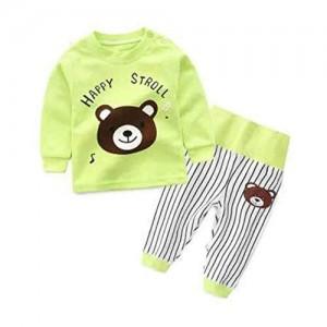 Bold N Elegant Cotton Cartoon Print Clothing Set For Little Baby Kids