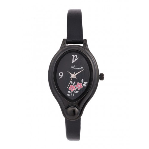 Camerii Women Black Dial Watch CWL551