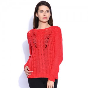 ONLY Red Sweater