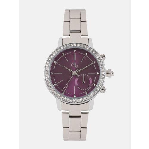 DressBerry Women Purple Analogue Watch MFB-PN-WTH-D6255-3