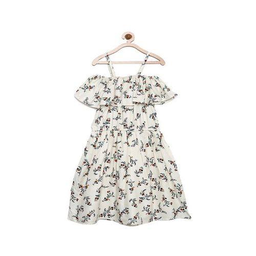 6aa2241bbc Buy Bella Moda Kids Off White Printed Dress online | Looksgud.in