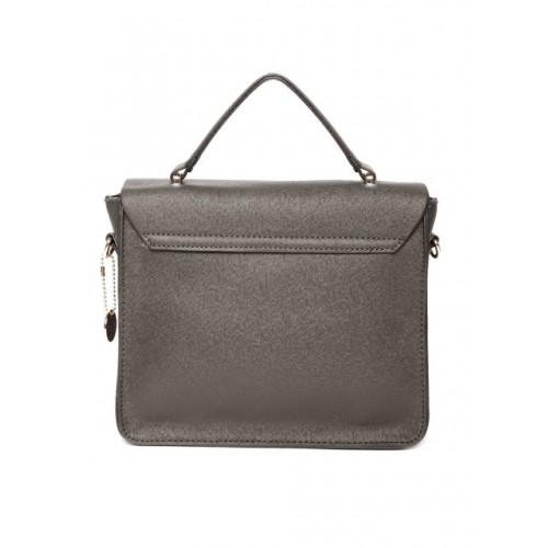 Lisa Haydon for Lino Perros Coffee Brown Satchel Bag