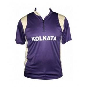 IPL Kolkata Knight Riders Fans Polo T-Shirts For Kids