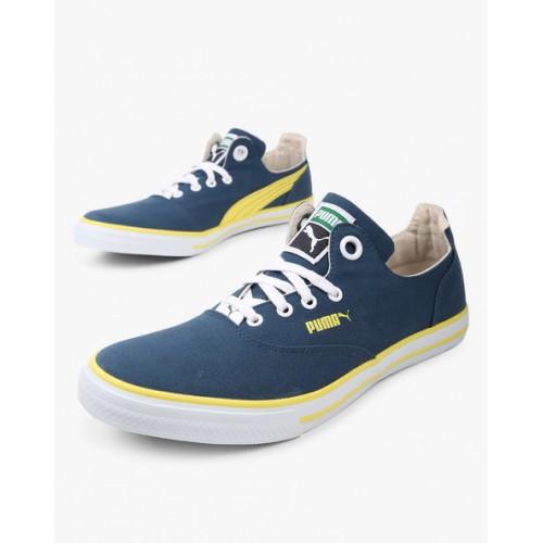 Buy Puma Limnos Cat 3 Dp Navy Blue Sneakers online  9ffb04b15d