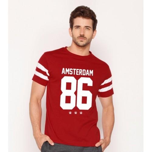 83d2875418f762 Buy Amsterdam Men's Printed Sport Trim T-Shirts online | Looksgud.in