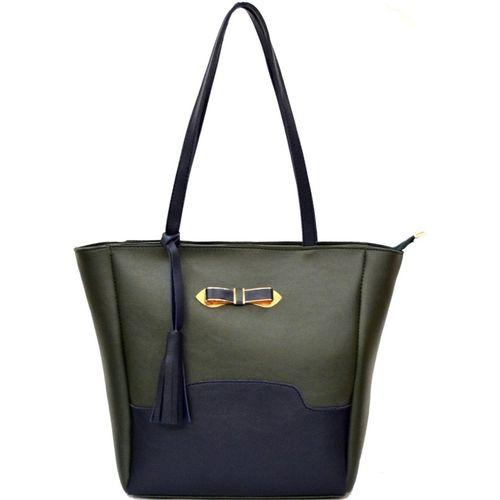 AGINOS Hand-held Bag(Green)