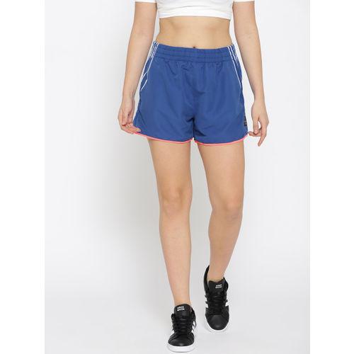 uk availability 3b603 61d0d ... Adidas Originals Women Blue EQT Sports Shorts ...