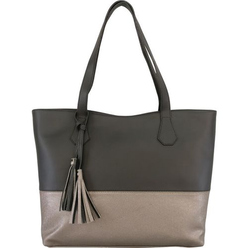 Toteteca Bag Works Shoulder Bag(Black, Grey)