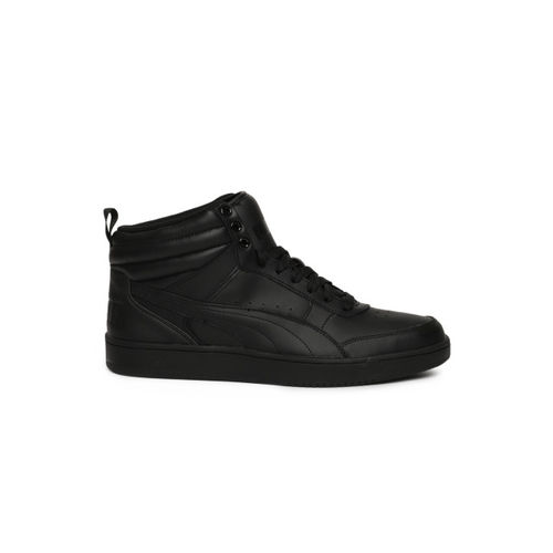 Puma Rebound Street v2 L Sneakers For Men(Black)