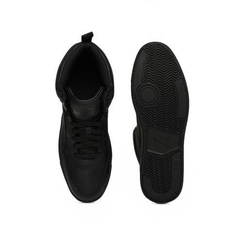 Puma Rebound Street v2 L Sneakers For Men(Black)