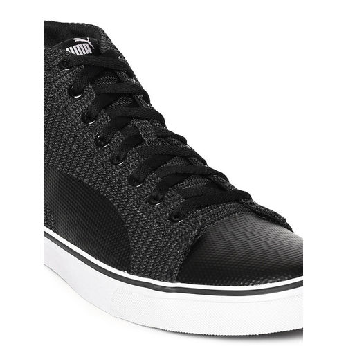 Puma Black Sneakers For Men