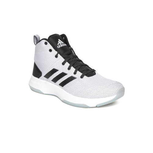 huge selection of 3a74e c8039 ... get adidas neo men grey solid mesh mid top sneakers 6e943 c7557