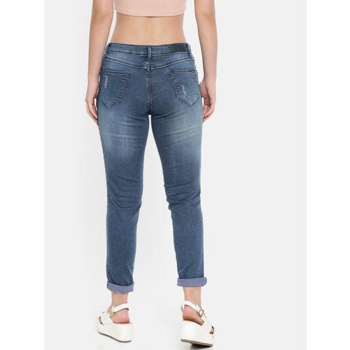 Kraus Jeans Women Blue Skinny Fit Jeans