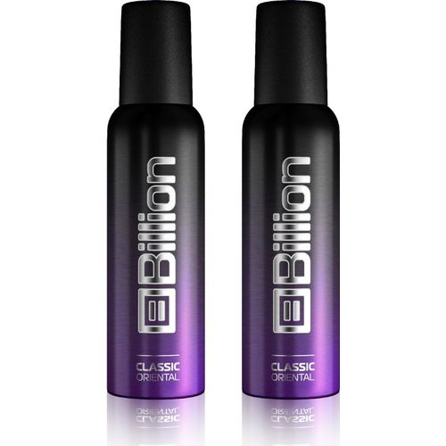 Billion Classic Oriental Body Spray - For Men(300 ml, Pack of 2)