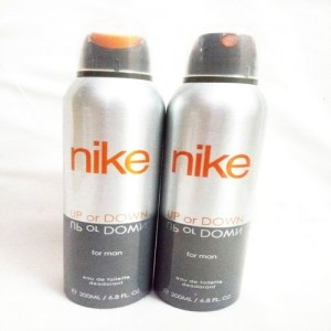 Nike Up Or Down Deodorant Spray - For Men(400 ml, Pack of 2)