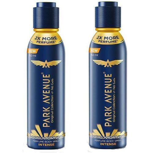Park Avenue Good Morning Intense Perfumed Body Spray Body Spray - For Men(300 ml, Pack of 2)