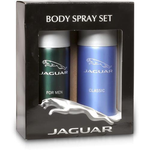 Jaguar Pk of 2 (Classic & For Men) Deodorant Spray - For Men(300 ml, Pack of 2)