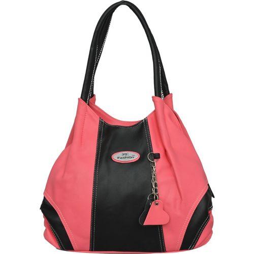 FD Fashion Shoulder Bag(Pink, Black)