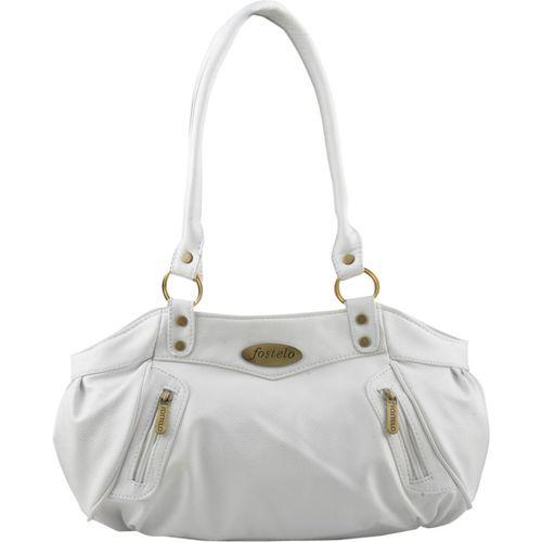 Fostelo Shoulder Bag(White)