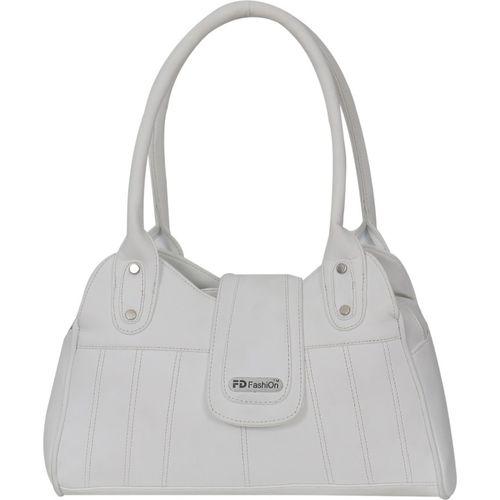 5e6f32879837 Buy FD Fashion Soft Luggage Shoulder Bag(White) online