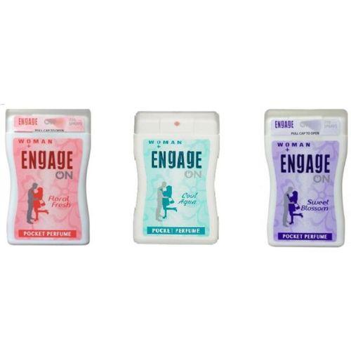 Engage POCKET PERFUME Eau de Cologne - 54 ml(For Women)