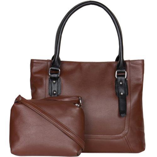 Adisa Shoulder Bag(Black, Brown)