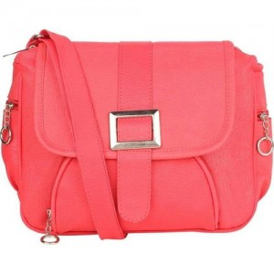 Buy GUESS Light Pink Logo Textured   Quilted Sling Bag online ... c97e89c681