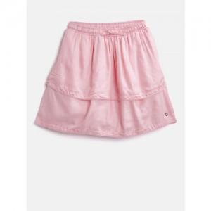 76b79cb0a4 Buy Teeny Tantrums Girls Blue Printed Flared Skirt online | Looksgud.in