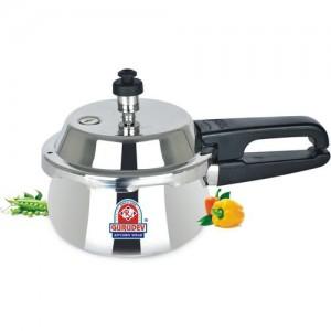efbdfe859 Buy Wonderchef Secura 4 Stainless Steel 5 L Pressure Cooker online ...