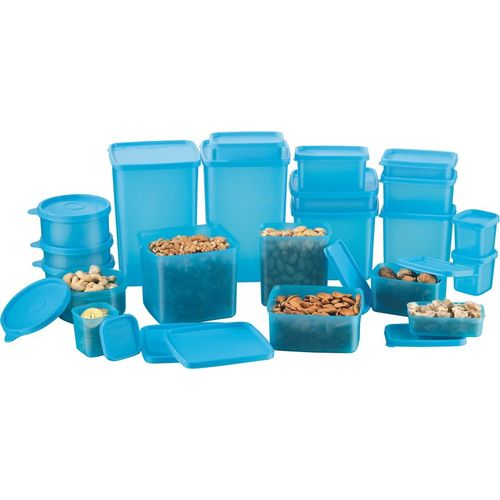 MasterCook Blue Polypropylene Grocery Container(Pack of 21)