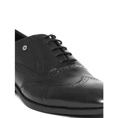 Blackberrys Men Black Genuine Leather Formal Brogues