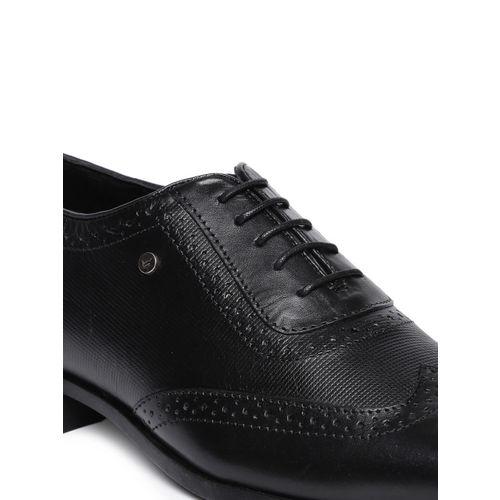 Blackberrys Men Black Leather Formal Brogues