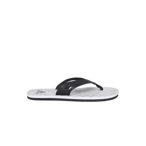 Adidas Men Black & White OZOR II Printed Thong Flip-Flops