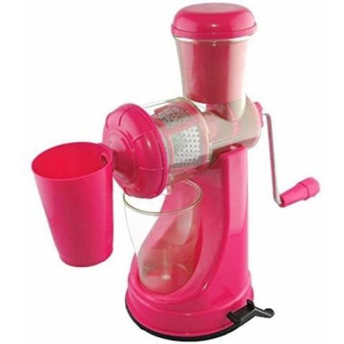 Lagotto FRUITS & VEGETABLES Plastic Hand Juicer(Pink Pack of 1)