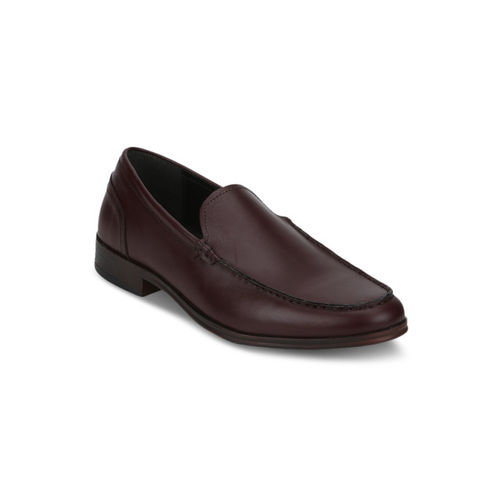 Red Tape Men Brown Formal Leather Loafers