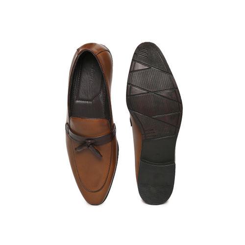 San Frissco Men Brown Slip-On Semiformal Shoes