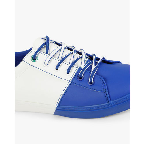 UNITED COLORS OF BENETTON Panelled Colourblock Lace-Up Sneakers