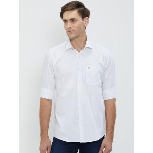b708048d50d Buy Lawman pg3 Men White Slim Fit Solid Casual Shirt online ...