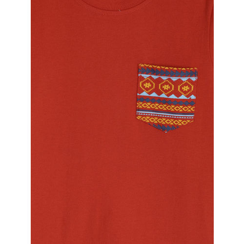 YK Boys Pack of 2 Printed Round Neck T-shirts