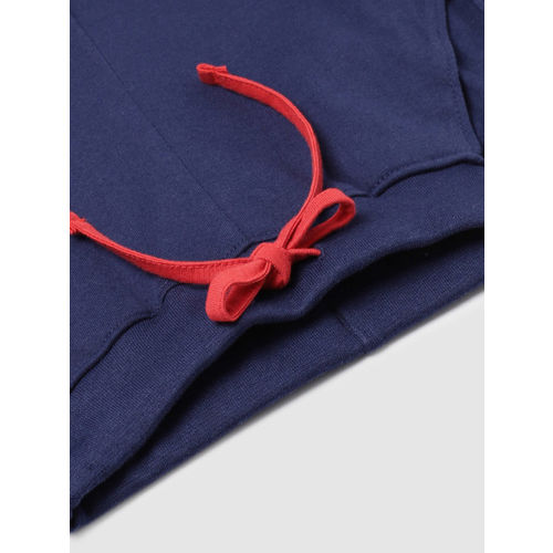 YK Boys White & Printed Night Suit 218YKKSLD50351A